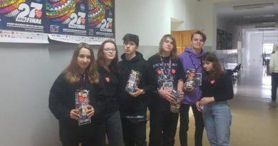 Uczniowie zebrali 13.245 złotych dla Orkiestry!