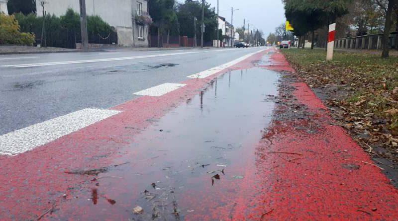 Dlaczego ścieżki rowerowe są czerwone?