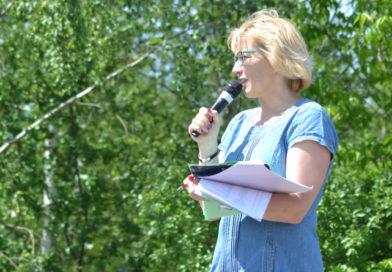 Aneta Mrozek: gdy pojawiły się głosy sprzeciwu mieszkańców, pan wójt wystąpił z oświadczeniem